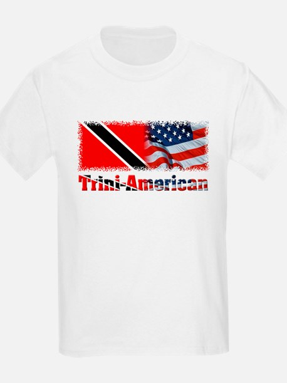 Trini-American Kids T-Shirt