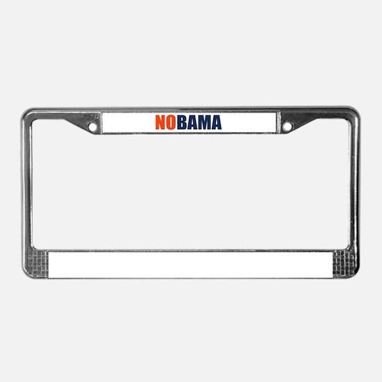 NoBama License Plate Frame