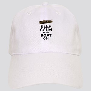 Keep Calm and Boat On Cap