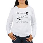 90% Skill, 10% Goon Women's Long Sleeve T-Shirt