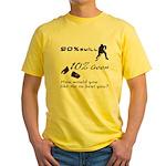 90% Skill, 10% Goon Yellow T-Shirt