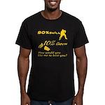 90% Skill, 10% Goon Men's Fitted T-Shirt (dark)