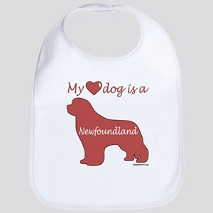 My Heart Dog is a Newf Bib