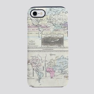 Vintage World Climate & Vegeta iPhone 7 Tough Case