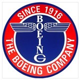 Boeing Wrapped Canvas Art