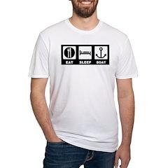 Eat Sleep Boat Shirt