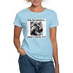 Help The Homeless Women's Light T-Shirt