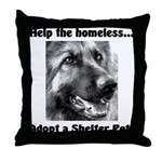 Help The Homeless Throw Pillow