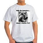 Help The Homeless Light T-Shirt