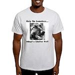 Help The Homeless Light T-Shirt
