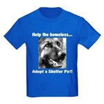 Help The Homeless Kids Dark T-Shirt