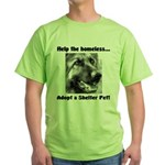 Help The Homeless Green T-Shirt