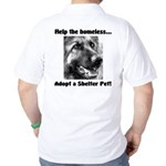 Help The Homeless Golf Shirt