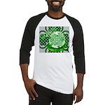 Celtic Artwork Designs Baseball Jersey