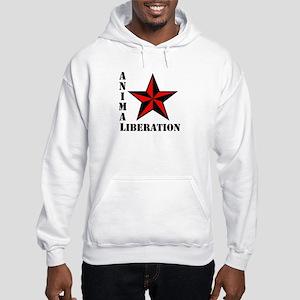 Animal Liberation: STAR Hooded Sweatshirt