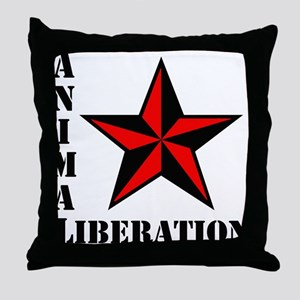 Animal Liberation: STAR Throw Pillow