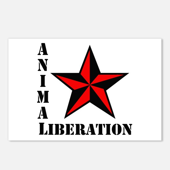 Animal Liberation: STAR Postcards (Package of 8)