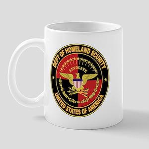 Dept of Homeland Secuirty Mug