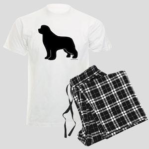 Newfoundland Silhouette Men's Light Pajamas
