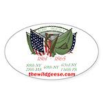 Irish Brigade - Oval Sticker
