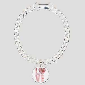 L O V E Charm Bracelet, One Charm