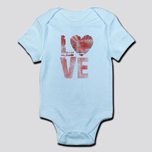 L O V E Infant Bodysuit