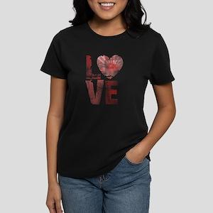 L O V E Women's Dark T-Shirt