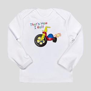 Big Wheel Kid's Long Sleeve Infant T-Shirt