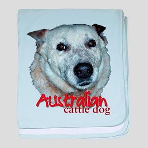 Australian Cattle Dog baby blanket