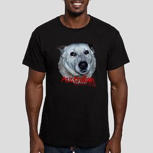 Australian Cattle Dog Men's Fitted T-Shirt (dark)