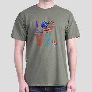 LOVE FOR AUTISM Dark T-Shirt