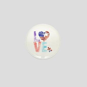 LOVE FOR AUTISM Mini Button