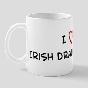 I Love Irish Draught Horse Mug