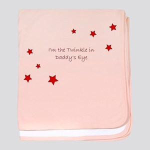 Daddy's Twinkle baby blanket