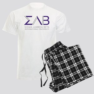 Sigma Lambda Beta Letters Men's Light Pajamas
