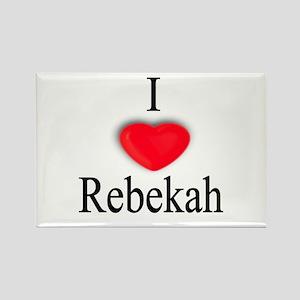 Rebekah Rectangle Magnet