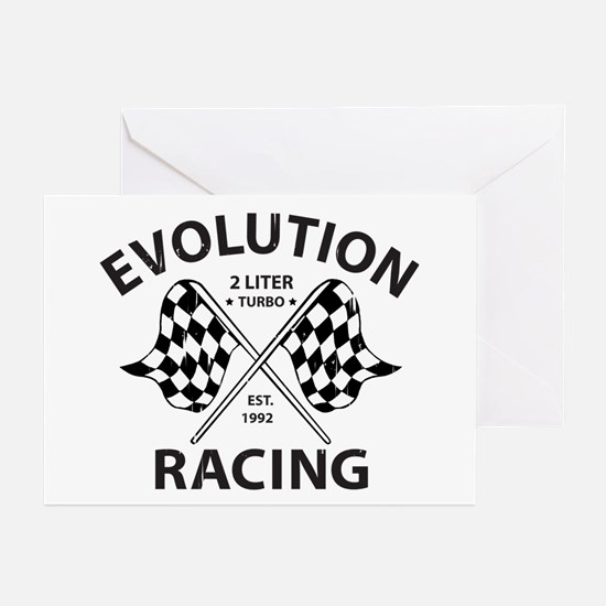 Evolution Racing Greeting Cards (Pk of 20)