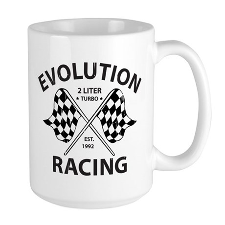 Evolution Racing Large Mug