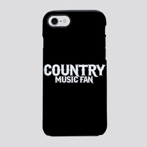 Country Music Fan iPhone 7 Tough Case