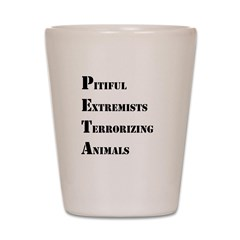 Anti-PETA Shot Glass