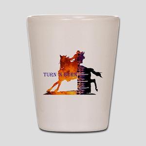 Turn 'n Burn Shot Glass