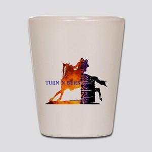 TNB Appaloosa Shot Glass