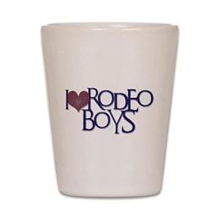 Rodeo Boys Shot Glass
