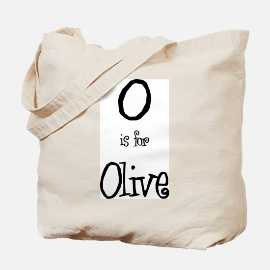 O Is For Olive Tote Bag