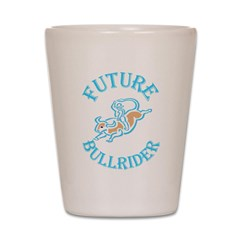Future Bullrider Shot Glass