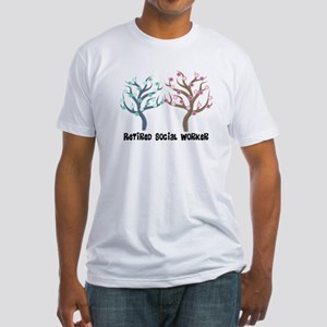 Social Worker III Fitted T-Shirt