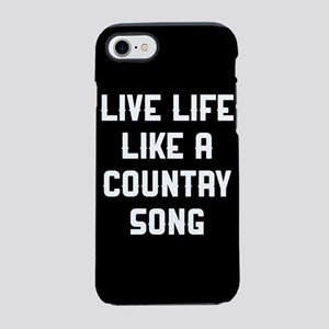 Country Song iPhone 7 Tough Case