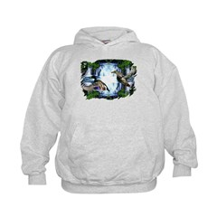 Mallards in flight Hoodie