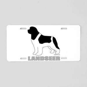 LANDSEER Aluminum License Plate