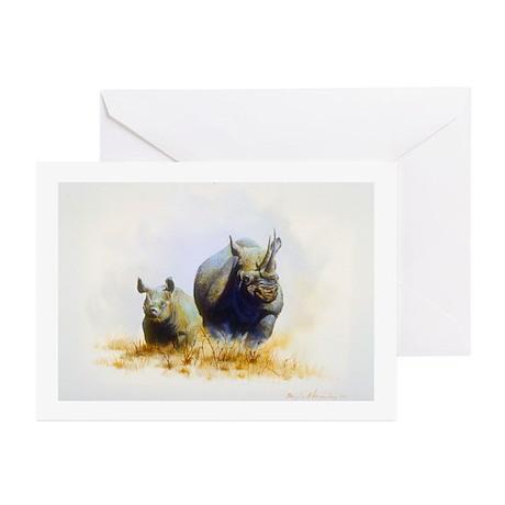 Animal Greeting Cards (Pk of 10)